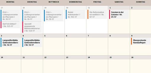 Hohenwart Forum - Kalender Jahresprogramm