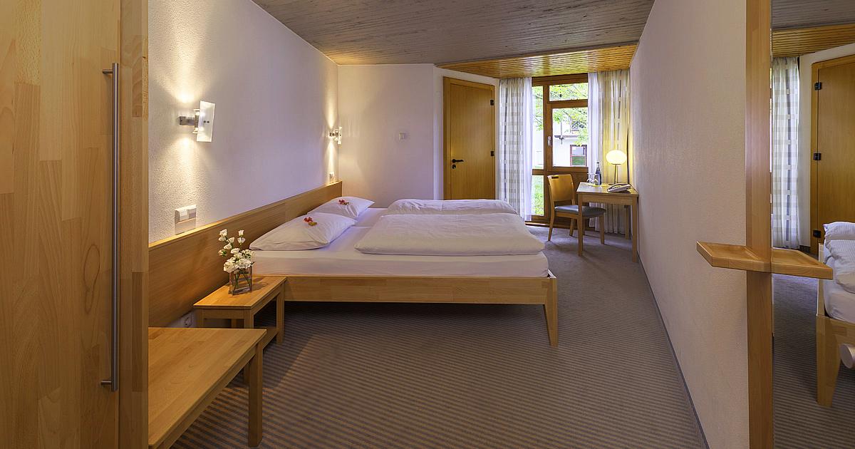 Hohenwart Forum, Hotel - Doppelzimmer