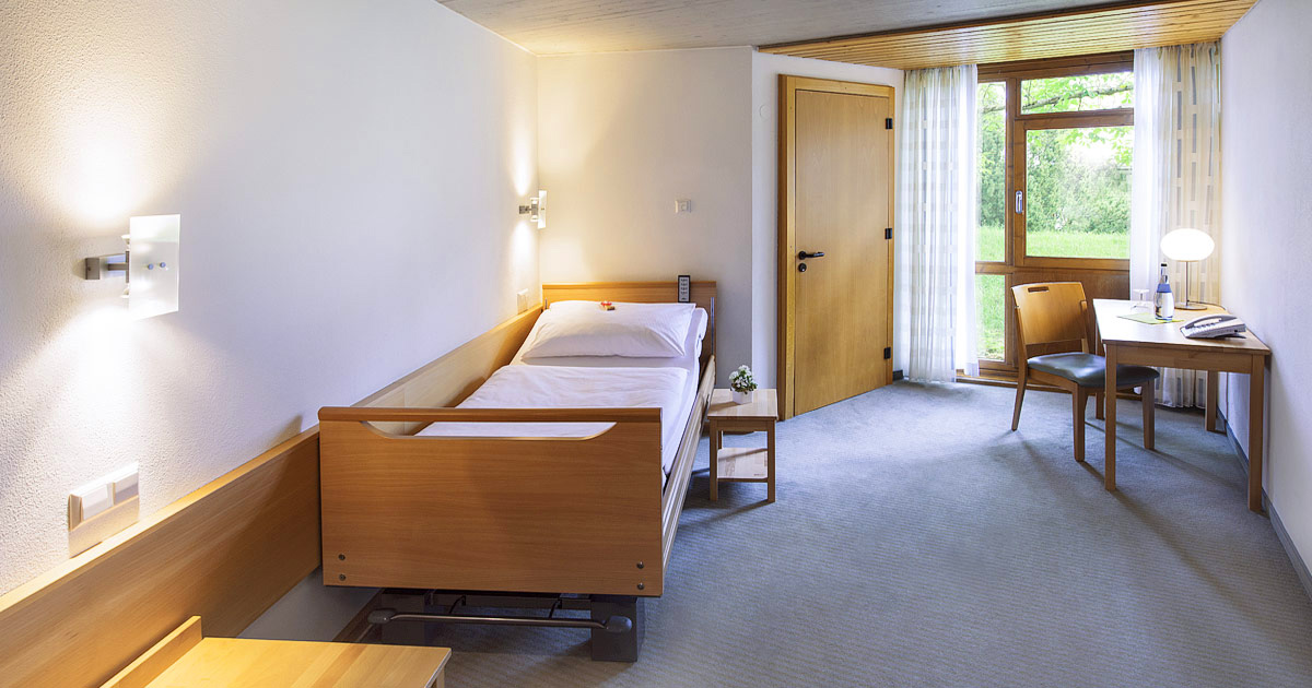 Hohenwart Forum, Hotel - Einzelzimmer