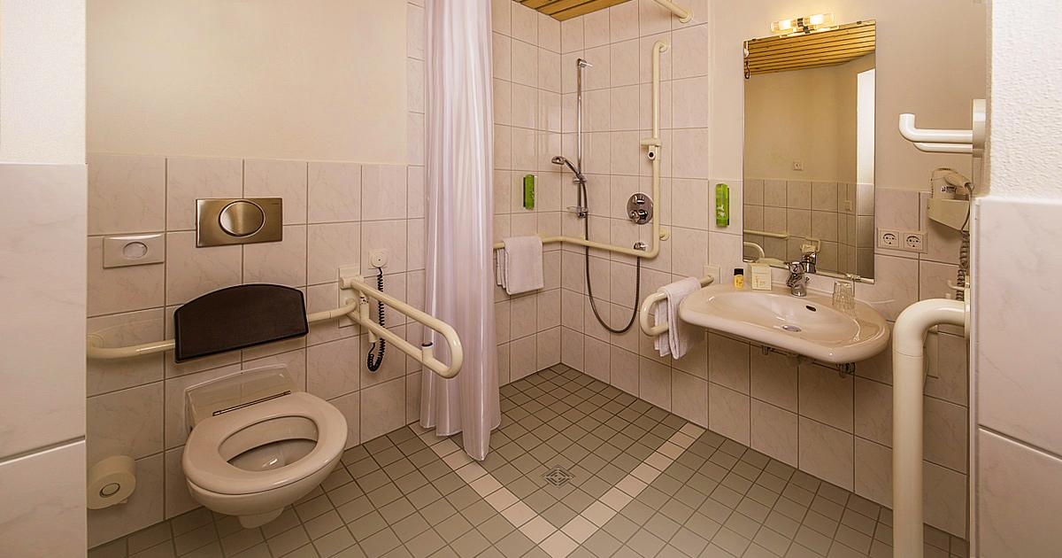 Hohenwart Forum, Hotel - Einzelzimmer, behindertengerecht