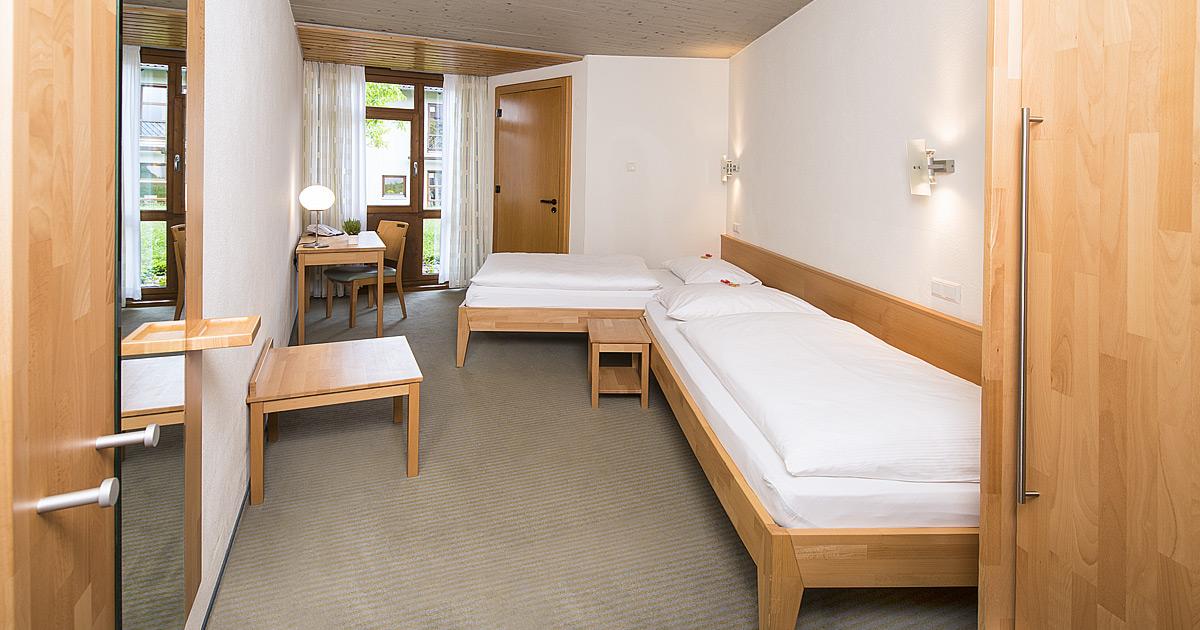 Hohenwart Forum-Zimmer-Doppelzimmer