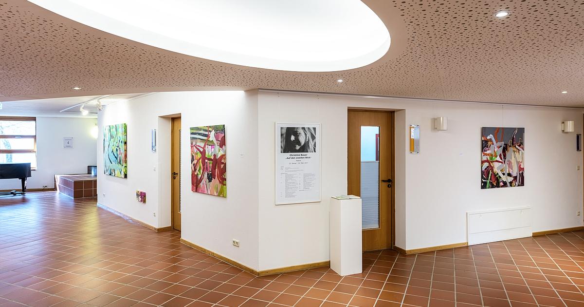 Hohenwart Forum Tagungshotel, Kunstausstellung